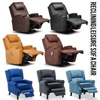 Modern Recliner Chair Single Sofa Armchair Home Theater Seating for Living Room