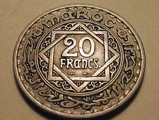 #3303 Morocco; 20 Francs 1366 - 1947