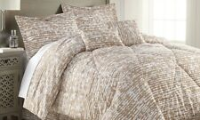 Bamboo 6 Pc Queen Size Comforter Set, Taupe - Retail Price $69.99