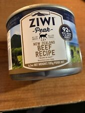 New listing Ziwi Peak Canned Cat Food Case X 12 Beef 6.5 Oz