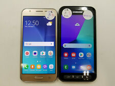 Lot of 2 Assorted Samsung Galaxy Unlocked Check Imei Good Condition -Bt5572