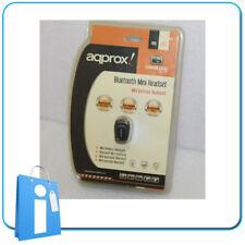 Auricular Bluetooth Aqprox - Nuevo NOS - Vintage - Batería defectuosa.