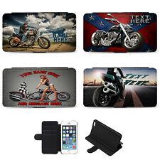 Personalizado Moto iPhone Estuche con Cubierta del teléfono su bicicleta de regalo de cumpleaños