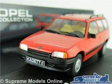 OPEL KADETT E CARAVAN MODEL CAR 1:43 SCALE RED IXO VAUXHALL ASTRA MK2 ESTATE K8