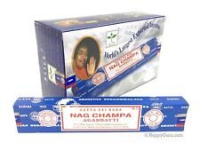 """Nag Champa"" Satya Shrinivas Sai Baba Incense 180gm (12 x 15gm Packets)"