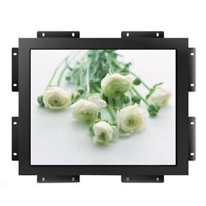 """Metal material 21.5"""" inch industrial embeded resistive LCD touch display monitor"""