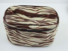 Makeup Bag Tiger Animal Print Cosmetic Bag Storage Tote