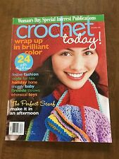 CROCHET TODAY! - November/December 2008 -- Back Issue (Out of Print)