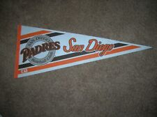 San Diego Padres 1980's full size pennant