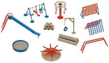 NEW HO 1:87 Faller 180576 Playground Equipmwnt ( Swings ,Slide ,etc.) Model KIT