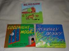 Set of 3 Margaret Wise Brown board books; Goodnight Moon+ ALL NEW