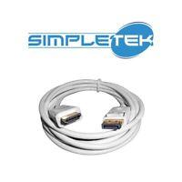 CAVO DISPLAY PORT TO HDMI DA DISPLAY PORT A HDMI  DISPLAYPORT TO HDMI 1,8MT WHIT