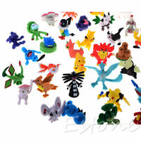24PCS Cute Lots 2-4cm Pokemon Monster Mini Random Figures Toy Party Gifts
