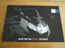 SUZUKI GSX -R 750 MOTORBIKE BROCHURE 2007/08 - POST FREE (UK)