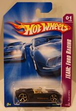 2008 Hot Wheels Team: Ford Racing GTX1 Matte Black w/Gold Interior OH5