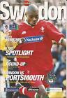 Football Programme - Swindon Town v Portsmouth - Div 1 - 20/2/1999
