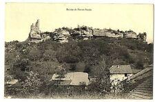 CPA 88 Vosges Ruines de Pierre-Percée