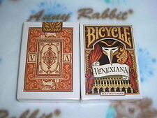 1 deck of Bicycle Venexiana white Playing Cards printed by USPCC-S103227996905-A