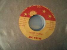 "JOE PAYNE - SWEET THANG * SOUL FUNK 7"" 45"