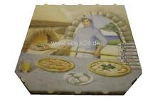 Pizzakarton 28x28x3 cm, 100 Stk,  Pizzabox, Salatschale, Aluschale, allpack24
