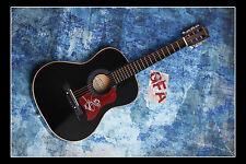 **GFA Big and Rich *JOHN RICH & BIG KENNY* Signed Acoustic Guitar B3 COA**
