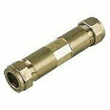 Brass Compression Repair Coupler Kit 15mm X 100mm Long