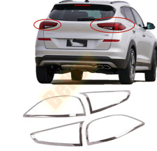 2019-2020 For Hyundai Tucson New ABS chrome Rear tail lamp shade cover trim
