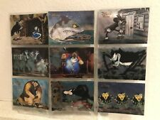 Disney Villains Set 9 Trading Cards - Skybox