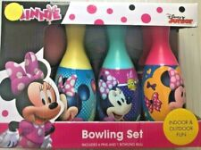 Disney Minnie Mouse Bowling Set Toy Gift Set For Kids Indoor Outdoor Fun New