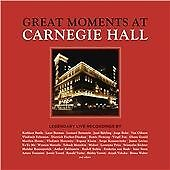 Various - Great Moments at Carnegie Hall CD New & Sealed