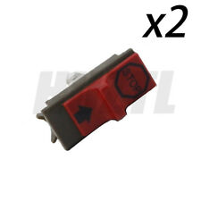 2PCS On Off Stop Switch For Husqvarna 137 142 36 41 42 136 50 51 55 61 Chainsaw