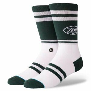 Stance x NFL New York Jets Socks 'Jets Logo' | M | Crew | New With Tags
