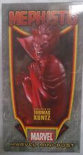 Marvel Comics Bowen Silver Surfer Mephisto Mini estatua/Busto Con Caja en muy buena condición