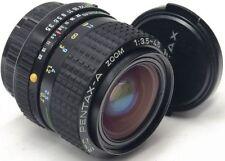 Pentax A Manual Focus Camera Lenses 35-70mm Focal