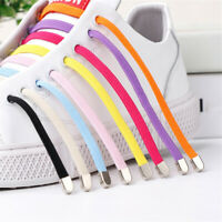 1Pair Free Tie-free Shoelace Elastic Lazy Shoelaces Flat Shoe Laces String