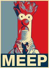 Men's T-Shirt, Beaker Meep Poster, Ideal Birthday Gift Or Present