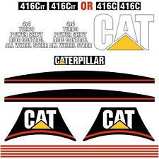Cat Caterpillar 416C, 426C, 428C, 436C 438C IT  DECALS STICKERS REPRO KIT