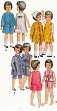 Doll Clothes Pattern 3350 Skipper Pepper Ginger Skooter Living Fluff Tiff Corky