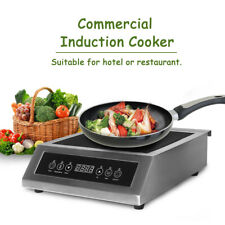 3500W Commercial Professional Induction Cooker Hot Plate Europe Plug CE 220-240V