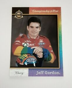 Jeff Gordon 1998 Pinnacle Championship Mint 1 of 2 Driver Special Insert Card SP