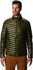 $300 Mountain Hardwear Ghost Whisperer/2 Down Jacket Green Dark Army Medium