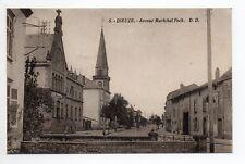 DIEUZE DUSS Moselle CPA 57 avenue du maréchal Foch