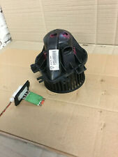 MINI ONE R52 2006 HEATER MOTOR AND RESISTOR GENUINE VALEO WITH AIRCON