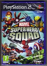PS2 Marvel Super Hero Squad (2009) UK PAL BRANDNEU & Sony Factory Sealed
