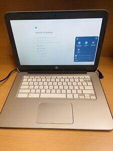 "HP Chromebook 14-X010NR 14"" 2GB RAM 16GB SSD No Charger  bad battery *Plz Read**"