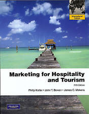 Marketing for Hospitality and Tourism 5e (Internation Edition)-ExLibrary