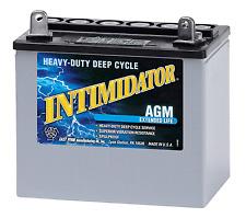 DEKA GENUINE NEW 8AU1 AGM MARINE INTIMIDATOR 240AMP CRANKING POWER BATTERY