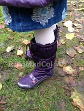 Kickers Kick Sport Snowy Ladies Snow Boots Purple size UK 7 NEW