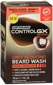 CONTROL GX GREY REDUCING BEARD WASH 4OZ