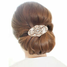 Tasha Crystal Hair Comb ART DECO BRIDAL HAIR COMB RHINESTONE GATSBY PROM